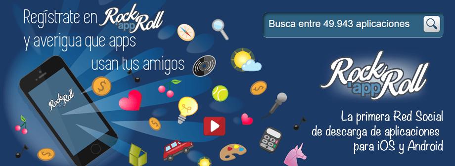 RockAppRoll, la primera red social para descargar aplicaciones