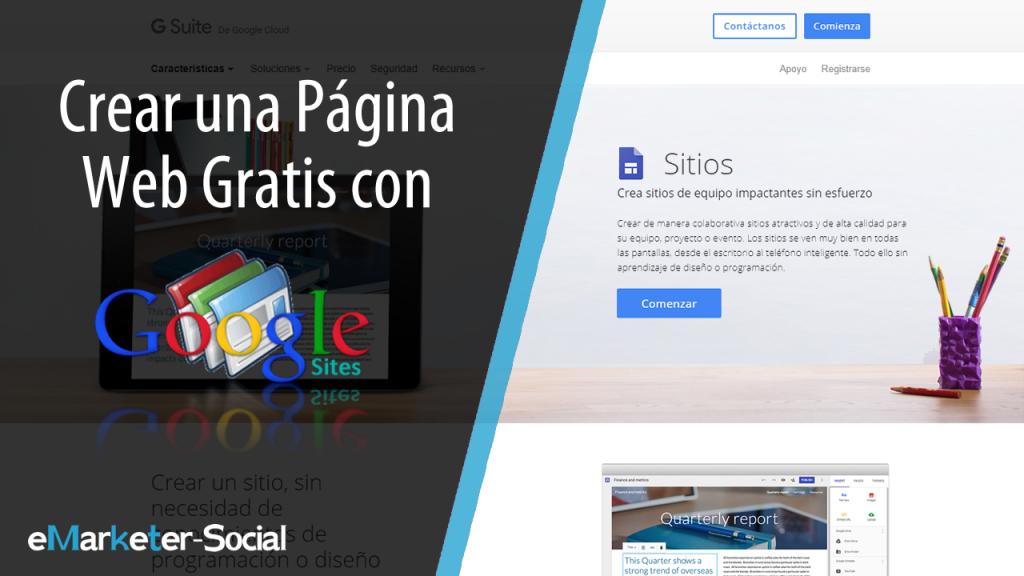 Cómo crear un sitio web gratis con Google Site