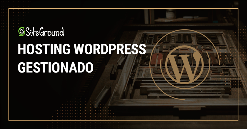 SiteGround Hosting especializado en WordPress