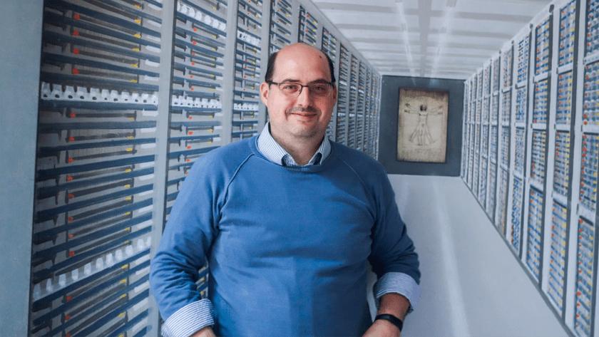 El CEO de SEREDnet Daniel Brasa