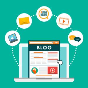 El blog es una página web dinámica