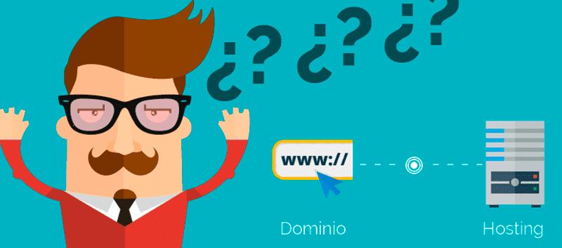 Requisitos básicos: Dominio y hosting