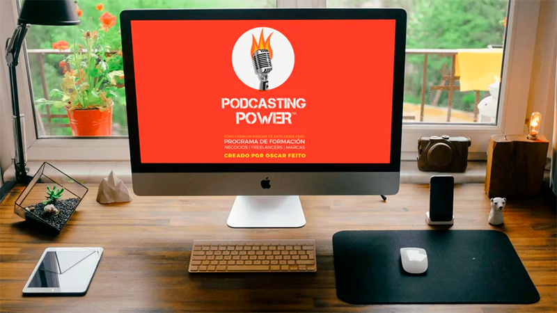 Podcasting-Power