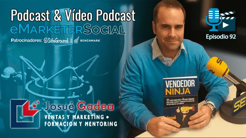 El autor de Vendedor Ninja Josué Gadea