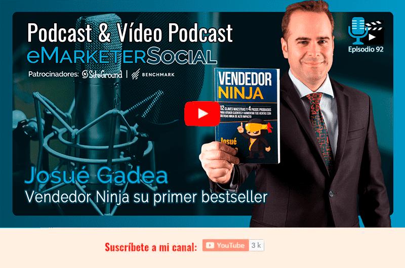 Vendedor Ninja - Miniatura del Videopodcast 092