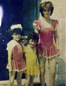 Vanessa Martínez era la niña del maillot amarillo