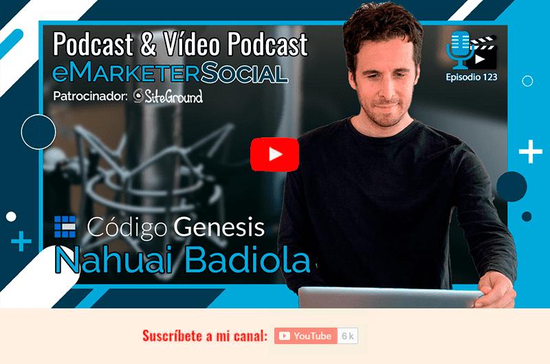 Acceso a la charla con Nahuai Badiola en YouTube