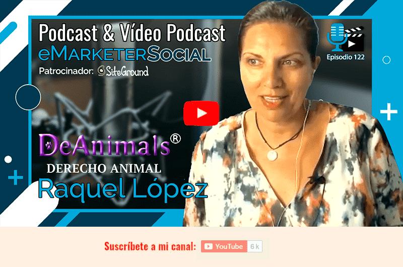 Acceso al vídeo de la charla con Raquel López