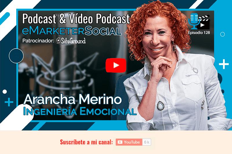 Miniatura del vídeopodcast 128 Arancha Marino