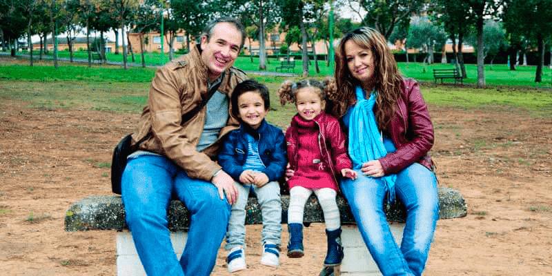 Foto de familia de Javier Gobea