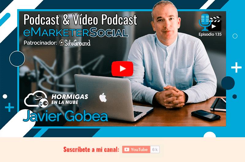 Acceso al vídeo de mi charla con Javier Gobea
