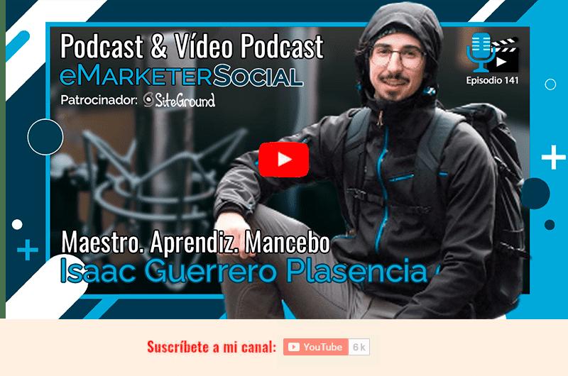 Miniatura y acceso al vídeo de la charla con Isaac Guerrero