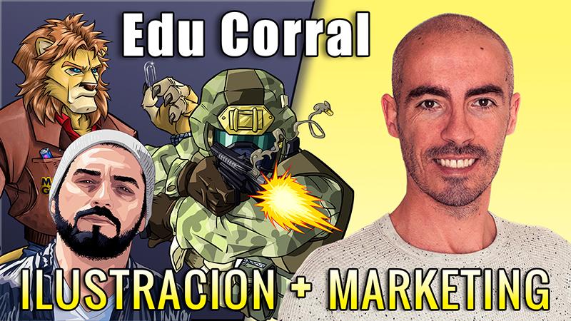 Eduardo del Corral artista Web e ilustrador